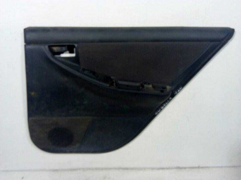 Обшивка двери Toyota Corolla 120 E120 2001 задняя правая 6763002720B1 (б/у)