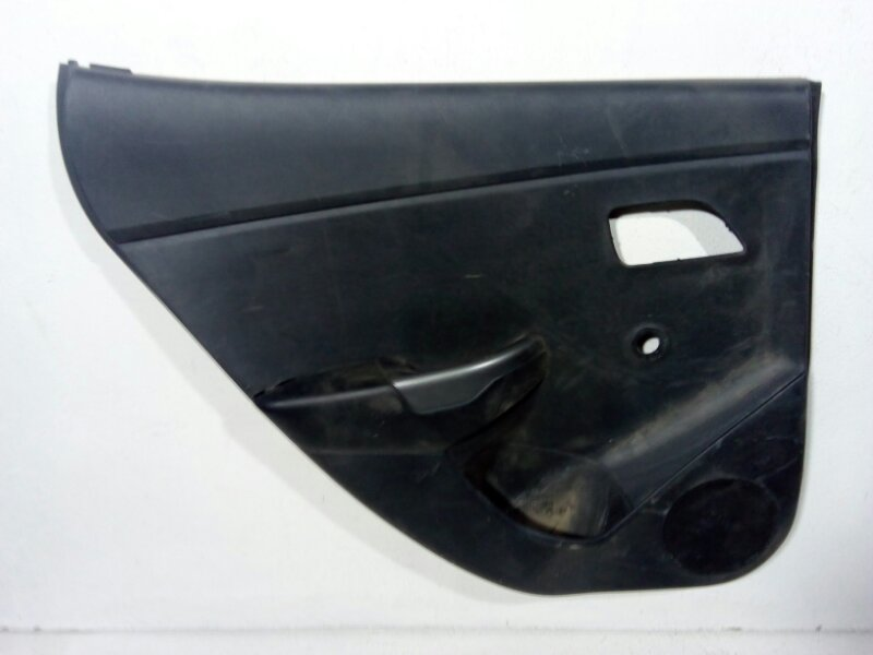 Обшивка двери Kia Rio 3 QB 2011 задняя левая 833014Y500WK (б/у)