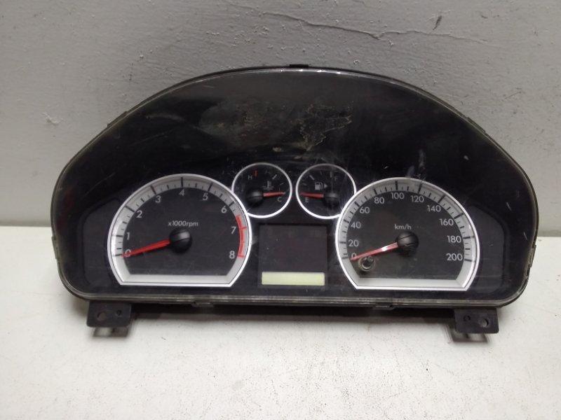Панель приборов Chevrolet Aveo T250 T250 2005 96652454 (б/у)