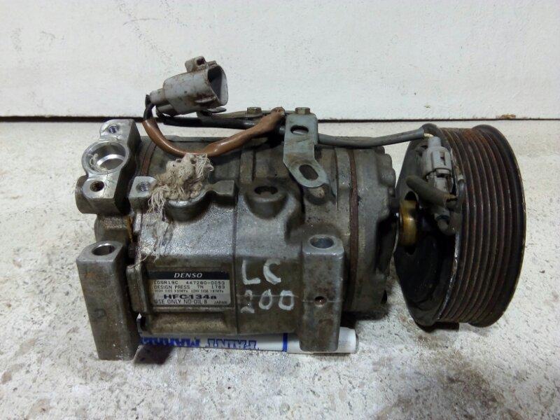 Компрессор кондиционера Toyota Land Cruiser 200 J200 1URFE 2008> 883206A320 (б/у)