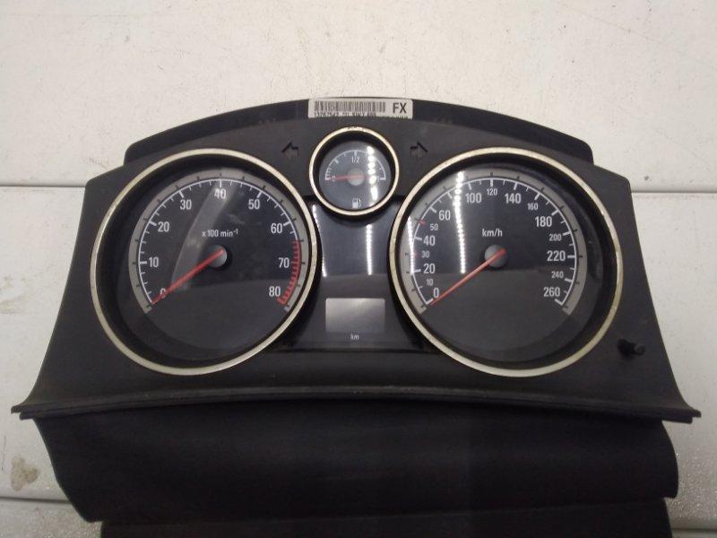 Панель приборов Opel Astra H L48 2004 13267542 (б/у)