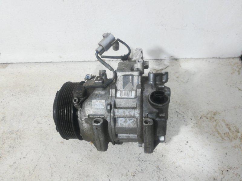 Компрессор кондиционера Lexus Rx AL10 2GRFE 2009 8832048170 (б/у)