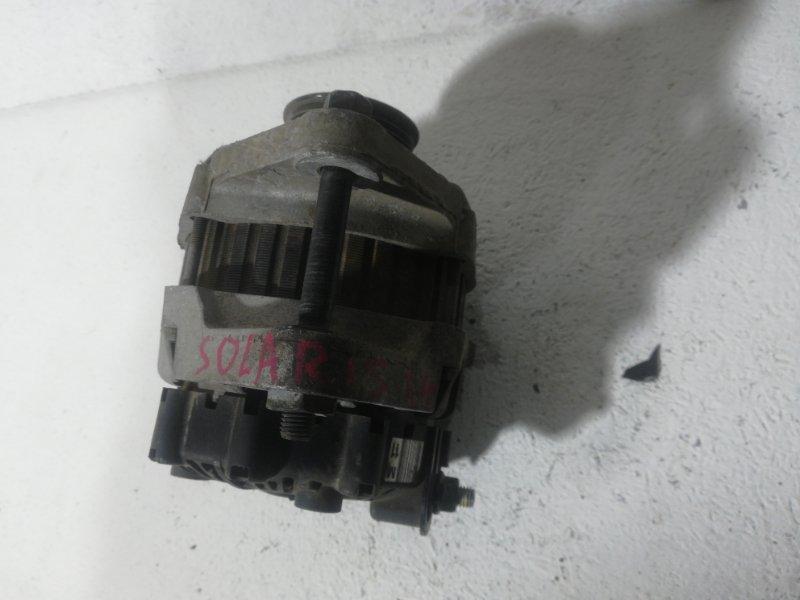 Генератор Hyundai Solaris 1 RB 2010 373002B510 (б/у)