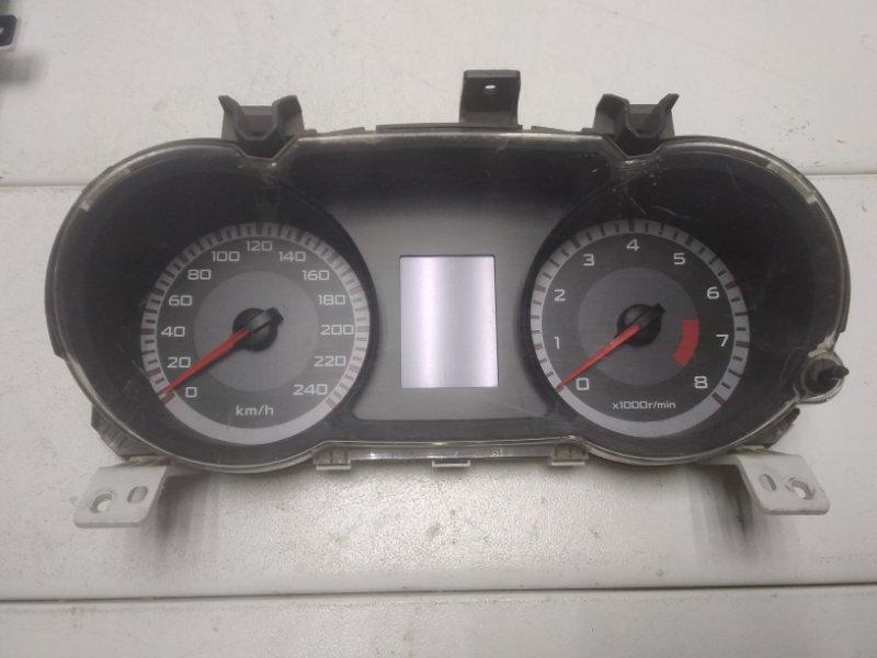 Панель приборов Mitsubishi Lancer 10 CX 2007> 8100A117 (б/у)