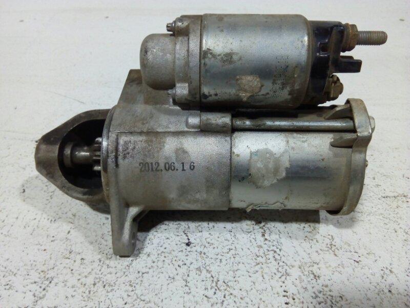 Стартер Chevrolet Cruze J300 2009 55576980 (б/у)