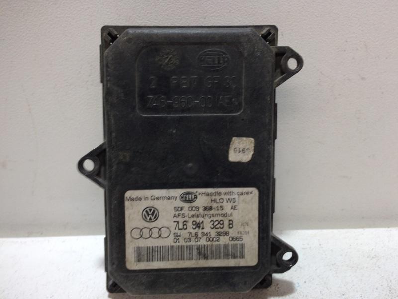 Блок адаптивного освещения Skoda Octavia A5 A5 2008 4L0907391 (б/у)