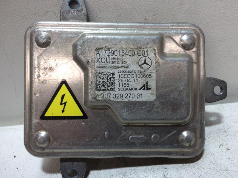 Блок управления наклона фары Mercedes A A1669002800 (б/у)