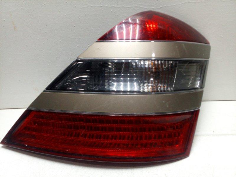 Фонарь задний правый Mercedes S W221 задний правый A2218200266 (б/у)
