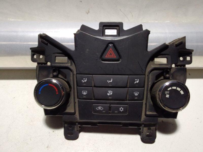 Блок управления климатической установкой Chevrolet Cruze J300 2009 (б/у)