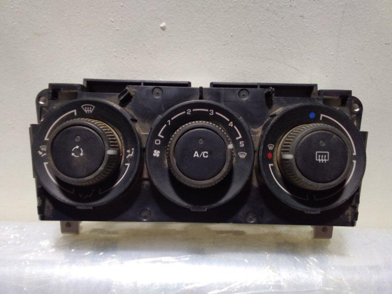 Блок управления климатической установкой Peugeot 308 4B 2007 (б/у)