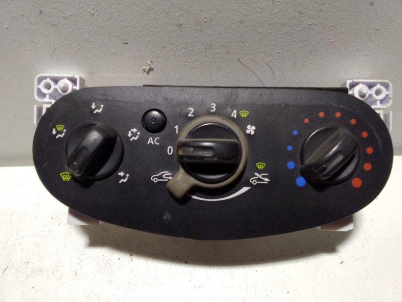 Блок управления климатической установкой Renault Sandero 1 275101924R (б/у)