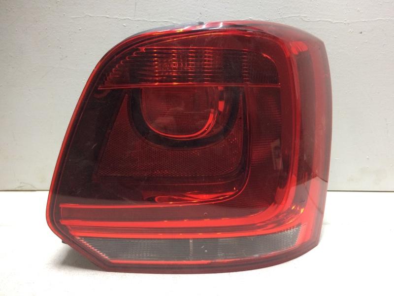 Фонарь задний правый Volkswagen Polo Hb MK5 2009 задний правый 6R0945096AH (б/у)