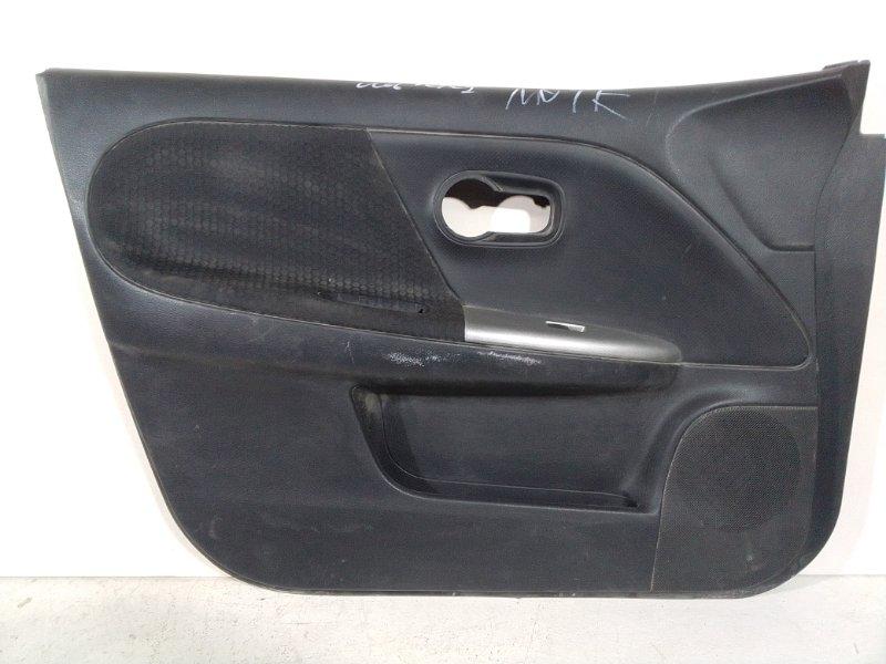 Обшивка двери Nissan Note передняя левая (б/у)