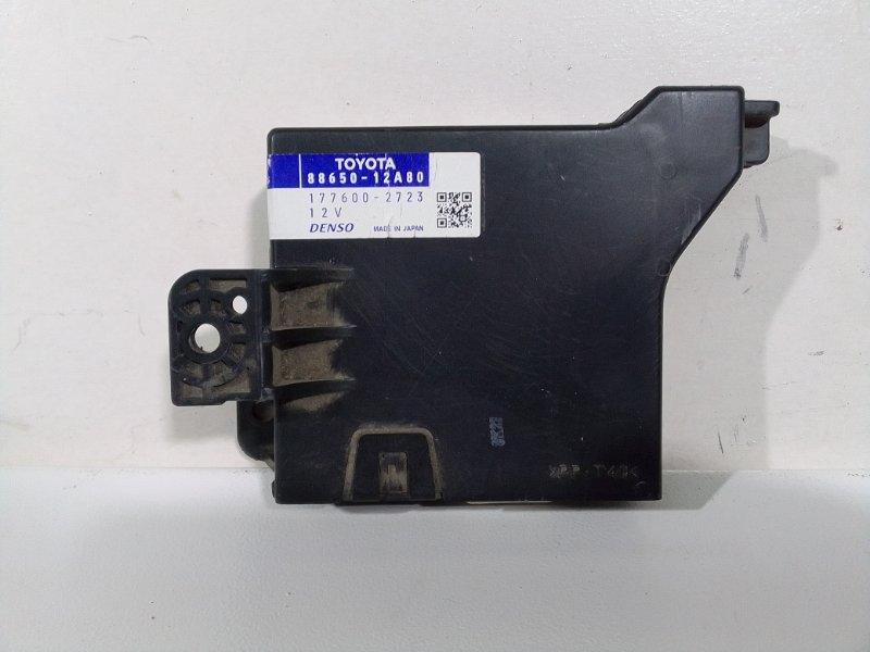 Блок управления кондиционером Toyota Corolla 150 8865012A80 (б/у)