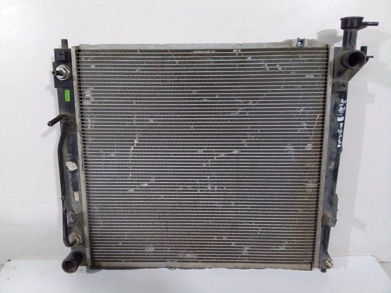 Радиатор основной Hyundai Santa Fe 3 (б/у)