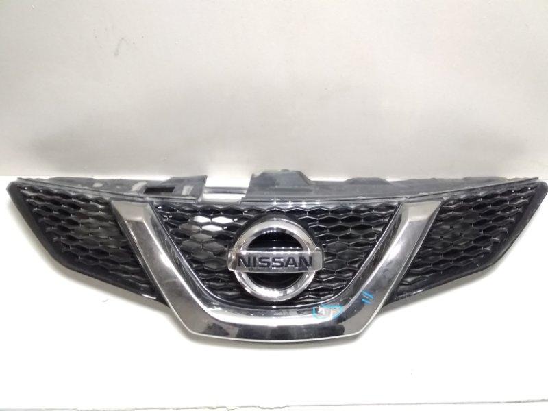 Решетка радиатора Nissan Qashqai 2 J11 2014> 623104EM1A (б/у)