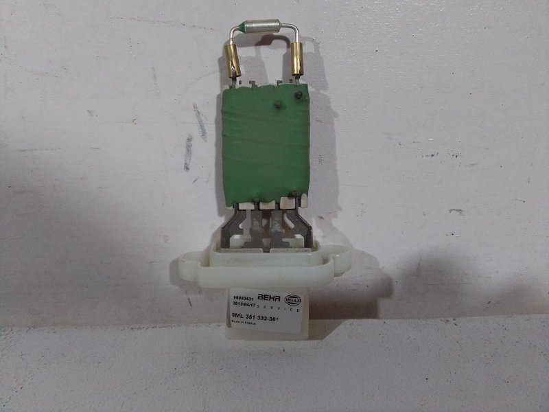 Резистор отопителя Ford Fiesta 2001 1855157 (б/у)