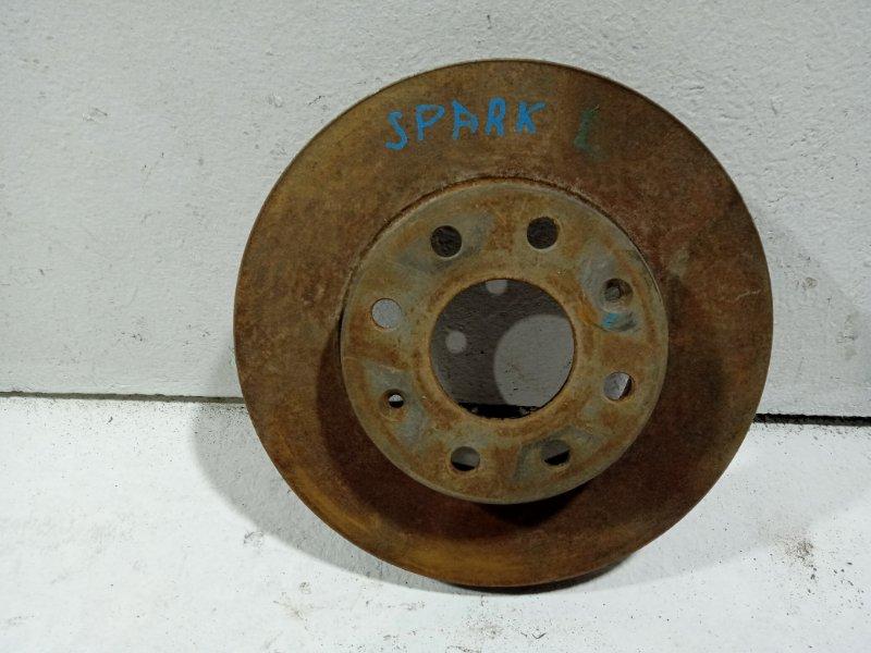 Диск тормозной Chevrolet Spark 3 M300 передний 96471274 (б/у)