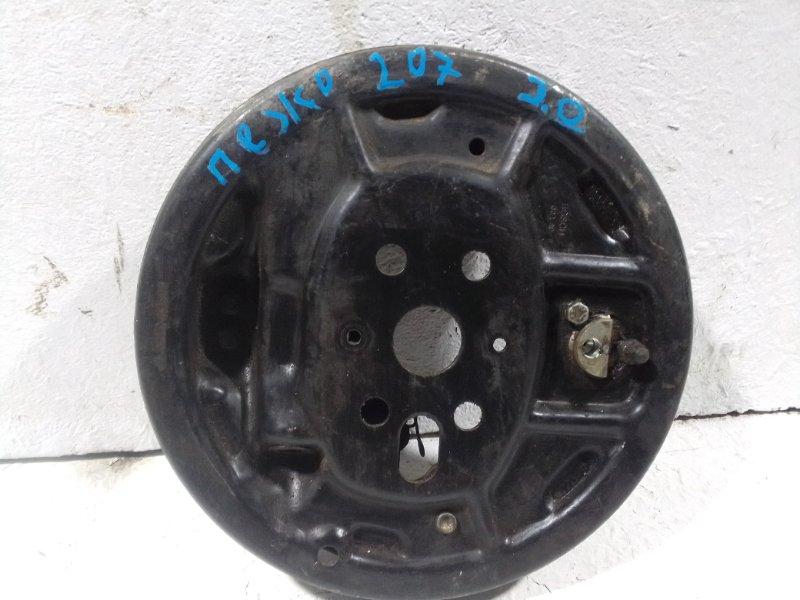 Тормозной барабан Peugeot 207 задний (б/у)