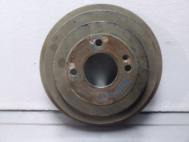 Тормозной барабан Kia Rio 3 задний 584110U000 (б/у)