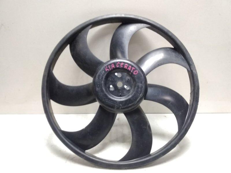 Крыльчатка вентилятора Kia Cerato 1 LD 2004 253802F000 (б/у)