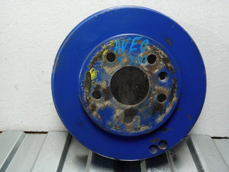 Тормозной барабан Chevrolet Aveo T300 T300 2011> задний 95224012 (б/у)