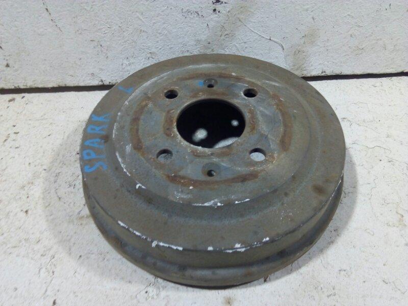 Тормозной барабан Chevrolet Aveo T250 задний левый 96470999 (б/у)