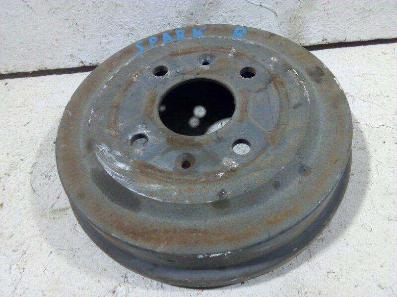 Тормозной барабан Chevrolet Aveo T250 задний правый 96470999 (б/у)