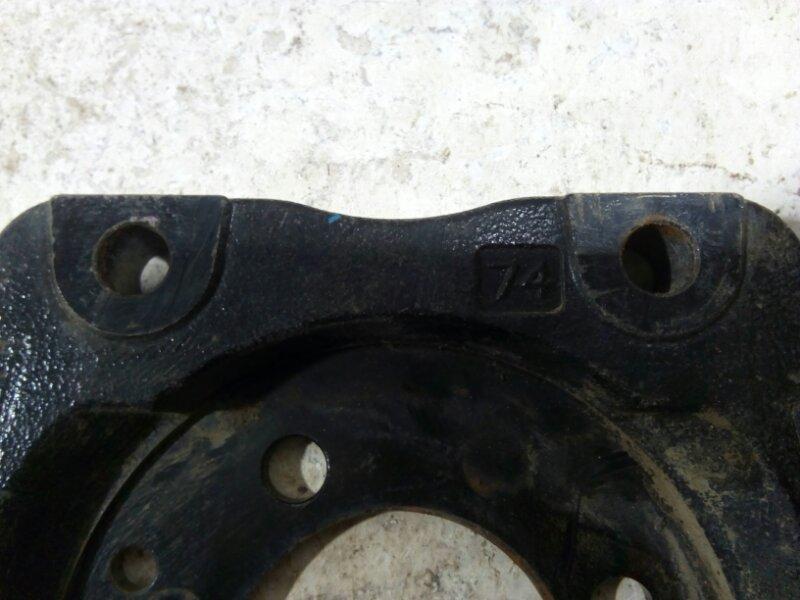 Щиток тормозного механизма Opel Astra H задний левый 13173016 (б/у)