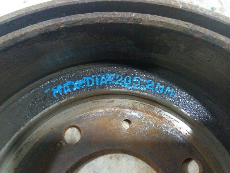 Тормозной барабан Hyundai Elantra 3 2000 5841117200 (б/у)
