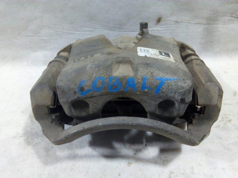 Суппорт передний Chevrolet Cobalt T250 L2C 2013 передний левый 95282252 (б/у)