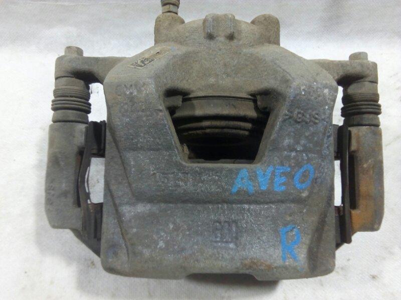 Суппорт передний Chevrolet Aveo T300 T300 1.6 2011> передний правый (б/у)