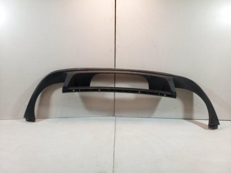 Бампер задний (нижняя часть) Volkswagen Touareg 2 NF 2010 задний 7P6807568H9B9 (б/у)
