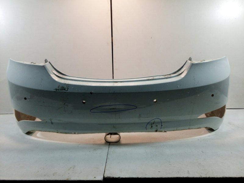 Бампер задний Hyundai Solaris 1 RB 2010 задний 866114L500 (б/у)