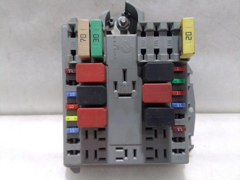 Блок предохранителей Fiat Doblo 152 2005 51761953 (б/у)