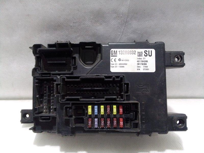 Блок предохранителей Opel Corsa D S 07 2006 13286032 (б/у)