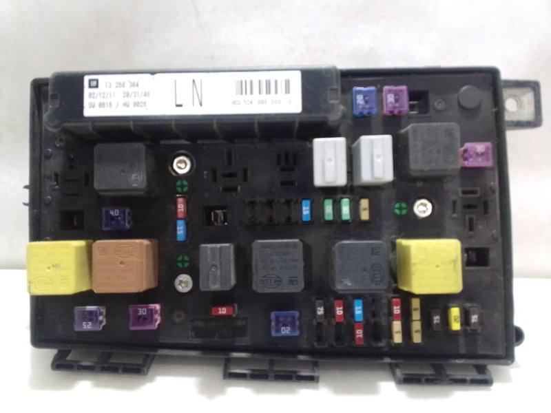 Блок предохранителей Opel Astra H L48 2004 93184656 (б/у)