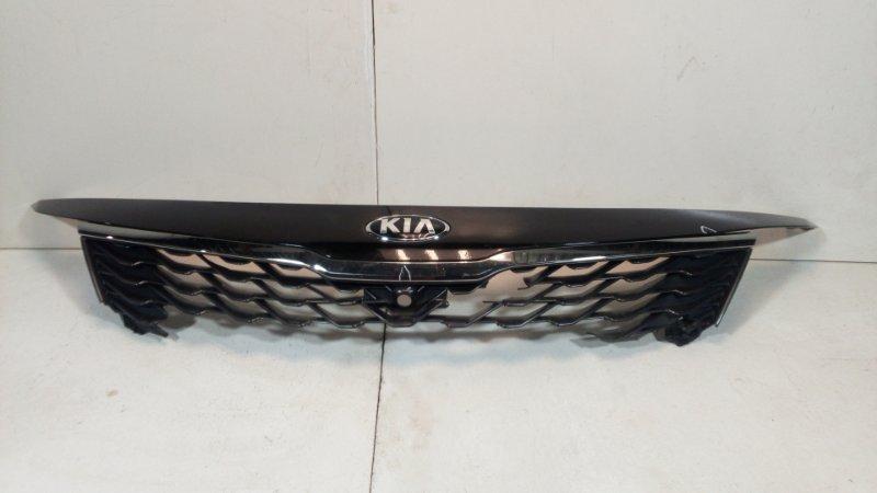 Решетка радиатора Kia Optima 4 JF 2018> передняя (б/у)