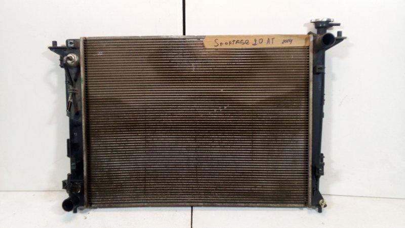 Радиатор основной Kia Sportage 3 SL 2010 передний 253102S550 (б/у)