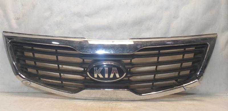 Решетка радиатора Kia Sportage 3 SL 2010 передняя 863503W000 (б/у)