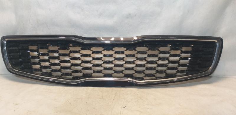 Решетка радиатора Kia Cerato 3 YD 2013 передняя 86350A7810 (б/у)