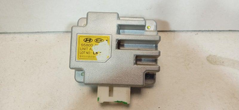 Блок управления светом Kia Rio 3 QB 1.6 G4FC 2016 958004L100 (б/у)