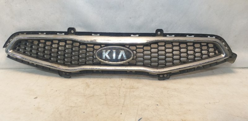 Решетка радиатора Kia Picanto 2 TA 2011 передняя 863511Y000 (б/у)