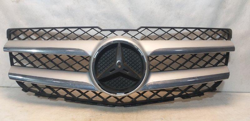 Решетка радиатора Mercedes Glk X204 2012 передняя A2048802983 (б/у)