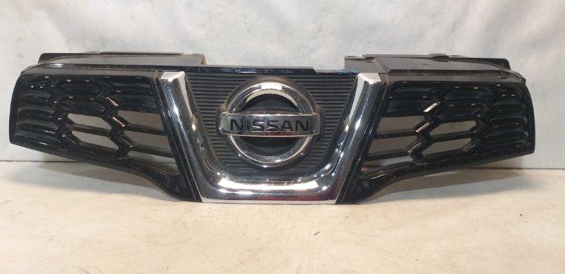 Решетка радиатора Nissan Qashqai 1 J10 2006 передняя 62310BR00A (б/у)