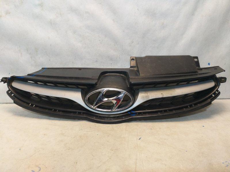 Решетка радиатора Hyundai Elantra 5 MD 2011 передняя 863503X100 (б/у)