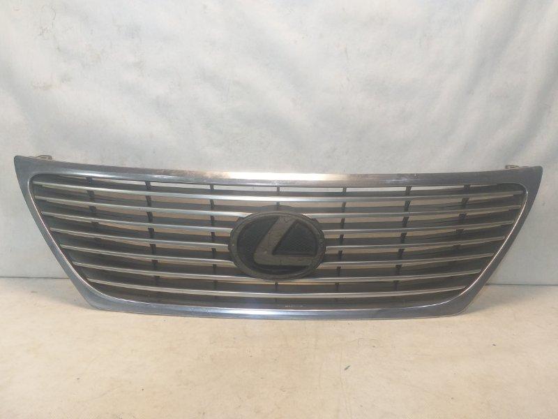 Решетка радиатора Lexus Ls USF40 2006 передняя 5311250120 (б/у)