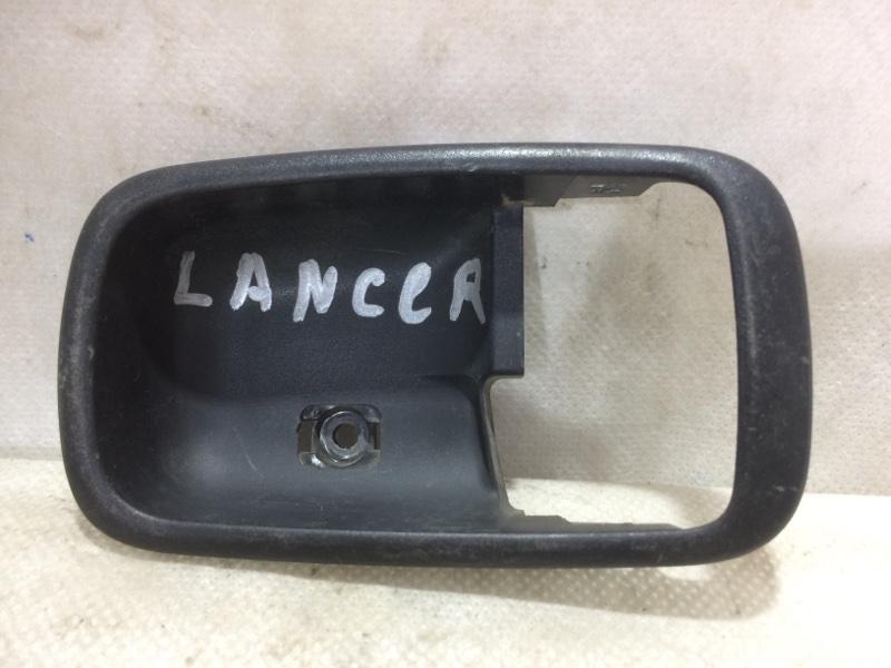 Накладка ручки внутренней Mitsubishi Lancer 9 (б/у)