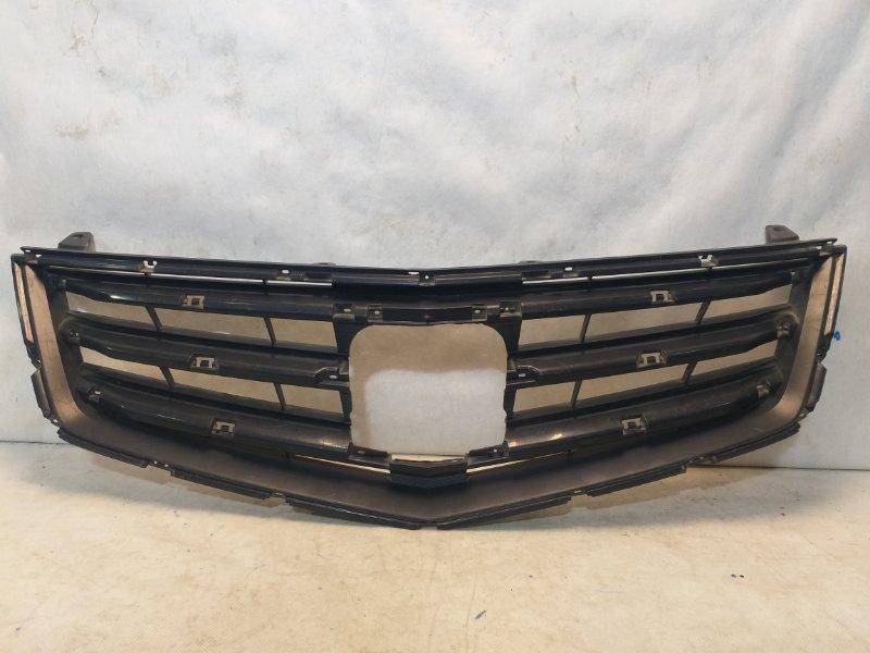 Решетка радиатора Honda Accord 8 CU2 2008 передняя 71121TL0G31 (б/у)