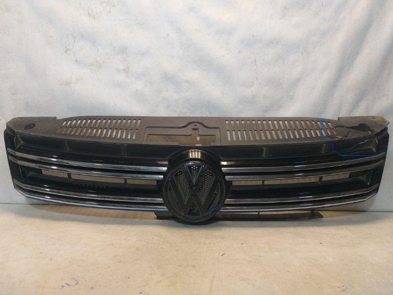 Решетка радиатора Volkswagen Tiguan 1 5N 2011> 5N0853653E (б/у)